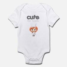 Cute But Trouble Chef Infant Bodysuit