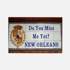 Vieux Carre street sign Rectangle Magnet (10 pack)