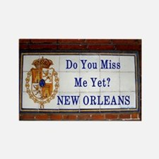 Vieux Carre street sign Rectangle Magnet