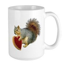 Squirrel Valentine Mug