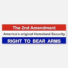 THE 2ND AMENDMENT THE ORIGINAL HOMELAND SECURITY.