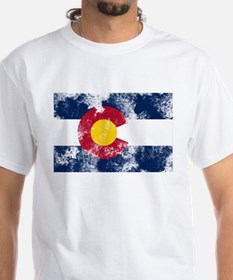 Distressed Colorado Flag Shirt