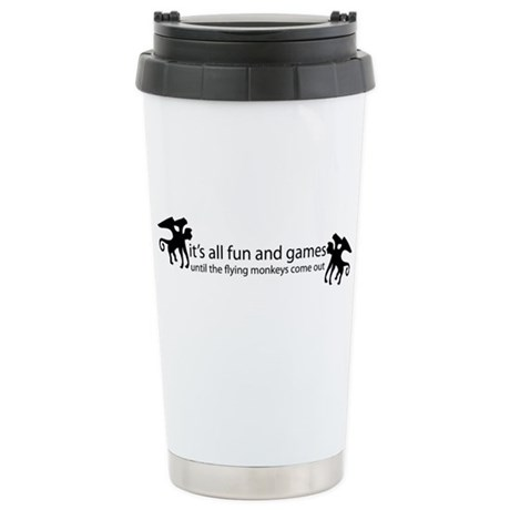 the Flying Monkeys Stainless Steel Travel Mug
