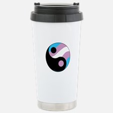Transgender Ying Yang Travel Mug