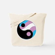Transgender Ying Yang Tote Bag
