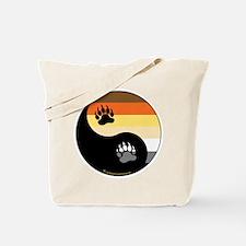 Bear Pride Ying Yang Tote Bag