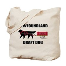 Newfoundland Draft Dog Tote Bag