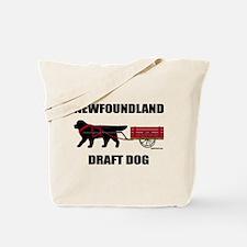 Newfoundland Draft Dog Tote Bag
