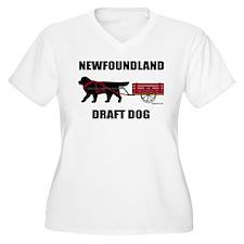 Newfoundland Draft Dog T-Shirt