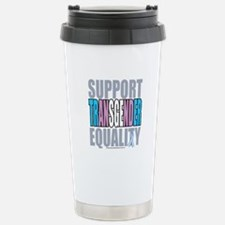 Support Transgender Equality Stainless Steel Trave