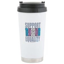 Support Transgender Equality Travel Mug
