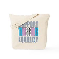 Support Transgender Equality Tote Bag