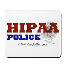 HIPAA Police Mousepad