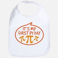 Baby's First Pi Day Bib