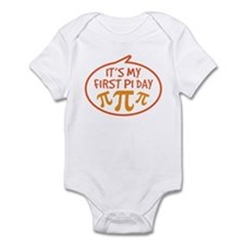 Baby's First Pi Day Infant Bodysuit