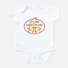 Baby's First Pi Day Infant Bodysuit