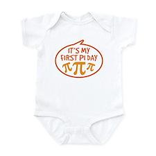Baby's First Pi Day Onesie