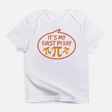 Baby's First Pi Day Infant T-Shirt