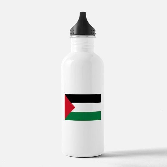 Palestinian Flag Water Bottle