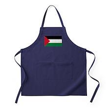 Palestinian Flag Apron (dark)