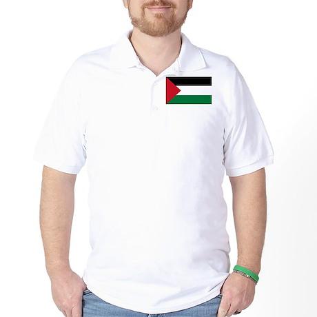 Palestinian Flag Golf Shirt