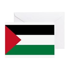 Palestinian Flag Greeting Card