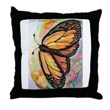 Butterfly, Colorful, Throw Pillow