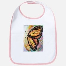 Butterfly, Colorful, Bib