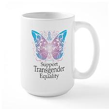 Transgender Butterfly Mug
