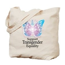 Transgender Butterfly Tote Bag
