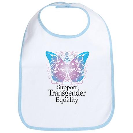 Transgender Butterfly Bib