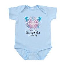 Transgender Butterfly Infant Bodysuit