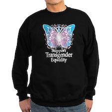 Transgender Butterfly Sweatshirt