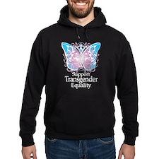 Transgender Butterfly Hoodie