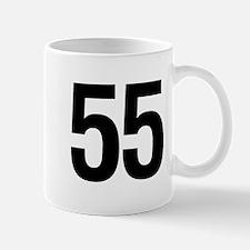 Number 55 Helvetica Mug