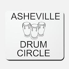 Asheville Drum Circle Mousepad