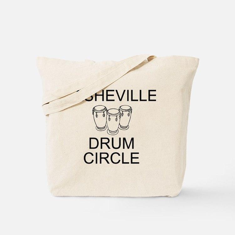 Asheville Drum Circle Tote Bag