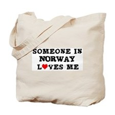 Someone in Norway Tote Bag