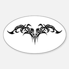 Biker Bitch tribal Decal