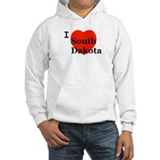 I Love South Dakota Hoodie