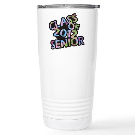 Class of 2012 Senior Stainless Steel Travel Mug