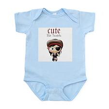 Cute But Trouble Pirate Infant Bodysuit