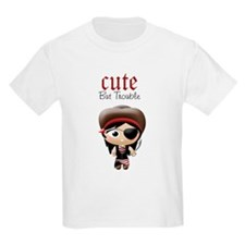 Cute But Trouble Pirate T-Shirt