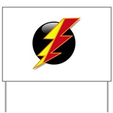 Flash Bolt Yard Sign