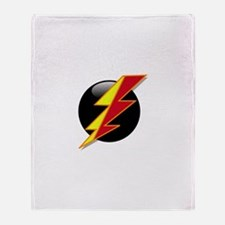 Flash Bolt Throw Blanket