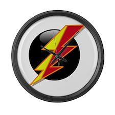 Flash Bolt Large Wall Clock