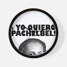 Yo Quiero Pachelbel Wall Clock