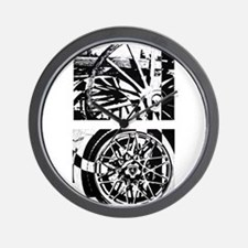 Wheels of Time Diptych Wall Clock