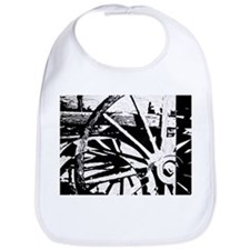 Wheels of Time Wagon Bib