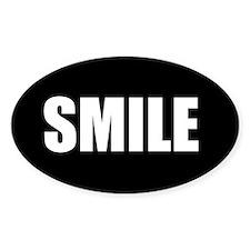 Smile (Oval Sticker)